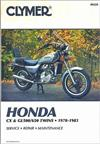 Honda CX500, CX650, GL500 & GL650 Silver Wing Twins 1978 - 1983