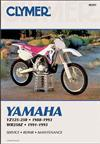 Yamaha YZ125, YZ250 & WR250 1988 - 1993