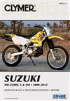 Suzuki DR-Z400E, S & SM 2000 - 2012 Clymer Owners Service & Repair Manual